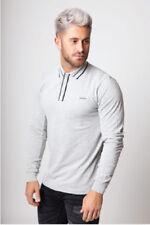 Chemises décontractées et hauts gris pour homme
