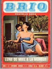 BRIO 1 LUNE DE MIEL A LA MORGUE  (ROMAN PHOTO LIGNEE SATANIK)