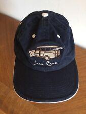 Santa Cruz Adjustable Cap Hat Navy Blue With Woodsy/Surfboard