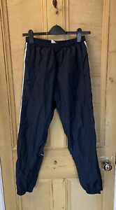 ADIDAS TROUSERS WORKOUT GYM 3 Stripe SPORTS running Size S UNISEX Chav