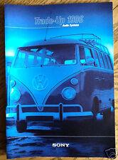 Sony Volkswagen Audio Brochure Trade-Up 1996