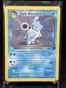 Dark Blastoise Holo Rare 3/82 Team Rocket Pokemon TCG Card🔥📈