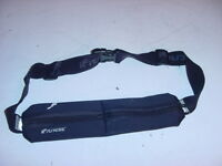 iFitness Running Storage Hydration Running Belt 2 Zipper Pouches