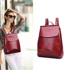Women Backpack Pu Leather Handbag Shoulder Bag Rucksack Travel Purse Satchel New