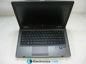 "HP ProBook 6460b 14"" Laptop 2.7 GHz i7-2620M 4GB RAM Grade B No Battery, Webcam"