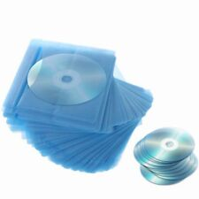 100Pcs CD DVD Double Sided Cover Storage Case PP Bag Sleeve Envelope Holder