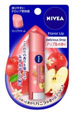 Nivea Flavor Lip Delicious Drop Lip Balm Apple & Vanilla 3.5g Japan import NEW