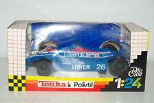 POLISTIL TALBOT LIGIER FORMULA 1 RACING CAR MINT BOXED RARE SELTEN!