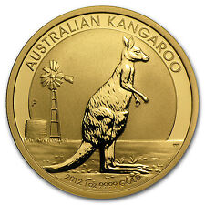 2012 1 oz Gold Australian Kangaroo Coin
