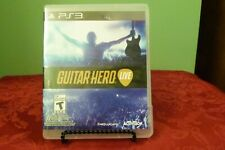 Guitar Hero Live PS3 Playstation 3 - Near Mint Condition