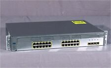 * Cisco Ws-C3750G-24Ts-S 24-Port Network Switch