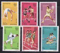 Romania 1988 MNH Mi 4458-4463 Sc 3512-3517 Seoul Olympic Games.Judo.Tennis **