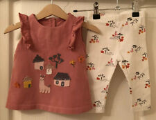 Baby Girl's M&S Outfit 6-9 Months