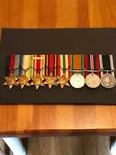 Superb WW 2 Medal Group With Long Service Medal HMS Victory