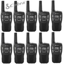 10 Pack Cobra 16 Mile Range FRS Two Way Radio Walkie Talkie Set NOAA CX112