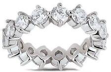 3.41 carat Diamond Eternity Ring Wedding Band F color Vs clarity 17 x 0.20 carat