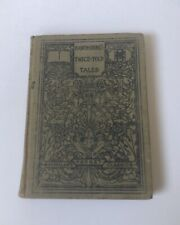 Antique HC Hawthorne's Twice-Told Tales Pocket Selection 1910 Prophetic Pictures