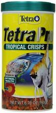 Tetra TetraPro Tropical Crisps with Biotin for Fishes LARGE 6.70 OUNCE 190g 2021