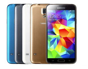 Samsung Galaxy S5 16GB SM-G900F Unlocked 4G LTE  Android Phone Excellent Device