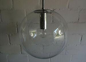 70er Jahre - Limburg - Glas Hängelampe - Bauhaus - 30cm Durchmesser