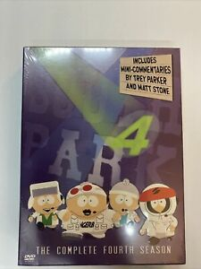 South Park - The Complete Fourth Season (DVD, 2004, 3-Disc Set, Checkpoint)