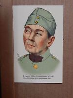 WW1 French patriotic Postcard A good soldier  unposted  XC3