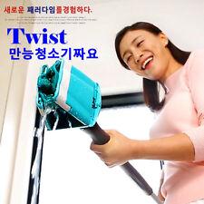 JJAYO Microfiber Floor Easy Handle Twist Weave Water Mop Cleaner Household Clean