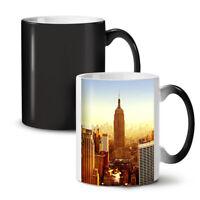 Empire State Sun Set NEW Colour Changing Tea Coffee Mug 11 oz | Wellcoda
