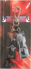 Bleach Hitsugaya and Ichigo Metal Key Chain Anime Licensed NEW