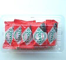 """Tabasco """"Spicy Dark Chocolate Wedges"""" (Pack of 10 single wedges)  #000117"""