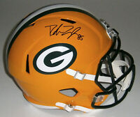 PACKERS Robert Tonyan signed Full Size Speed Replica helmet w/ #85 JSA COA AUTO