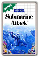 SUBMARINE ATTACK SEGA MASTER SYSTEM FRIDGE MAGNET IMAN NEVERA