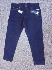 NWT Banana Republic Tapered Men's Rapid Movement Jeans Midnight Wash 33 X 34
