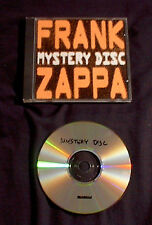 1998 Frank Zappa The Old Masters 1ST + 2ND Mystery LPs auf 1 CD Beefheart Mothers