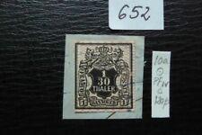 Hannover 1856 Mi 10a PFIV auf Briefstück Geprüft !