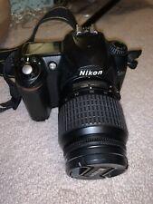 Nikon D D50 6.1MP Digital SLR Camera - Black (Kit w/ AF-S DX ED G 18-55mm Lens)