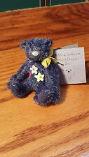 """Deb Canham """"Charlie Charm"""" bear- Have a Heart Collection"""