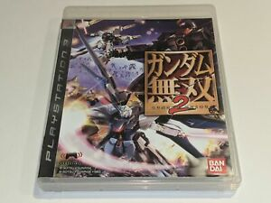GUNDAM MUSOU 2 Sony Playstation 3 PS3 Video Game Import Region 3 COMPLETE