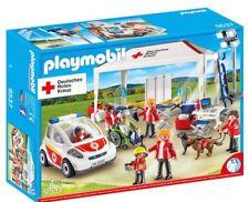 Playmobil DRK Versorgungszelt mit Notarzt-Einsatzfahrzeug 9537 Neu & OVP