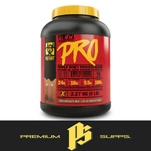 Mutant Pro 2.27kg - Triple Whey Protein Blend Isolate Hydrolysate + FREE SAMPLE
