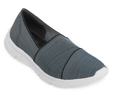 Strictly Comfort Madge Slip On Women's Shoe - striped -10