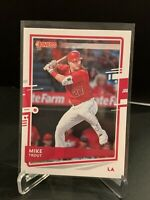 "2020 Donruss City Name Swap ""City Of Angels"" SP Parallel MIKE TROUT- Angels"