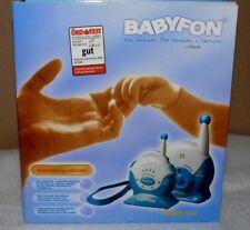 VIVANCO Baby fon Baby phone BM880 Eco 250M 2 Kanäle Blau Weis Überwachung anlage