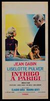 Plakat Intrigen A Paris Jean Gabin Liselotte Pulver Sammeln Berti Darc L158