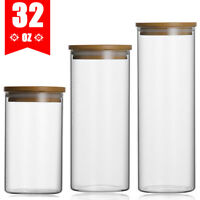 450/650/950ml Glass Food Storage Jar Containers with Airtight Lids