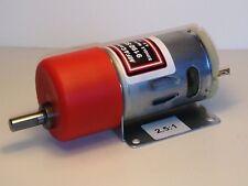 MFA 540 GEARED MOTOR 2.5:1 RATIO - VOLTAGE RANGE 4.5v TO 15.0v ( 6300 RPM-12v )