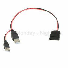 USB to SATA Power Cable for 2.5 SATA HDD
