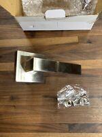 Probrico Door Handle 10 Pack Silver Satin Nickel Finish Lever Half Dummy Modern