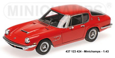 Minichamps 437123424- MASERATI MISTRAL COUPÉ – 1963 – RED  1:43