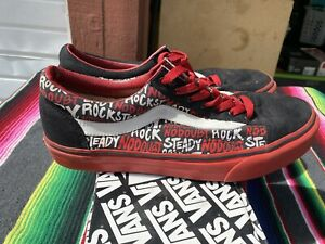 No Doubt / Rock Steady Promo Old School Vans Shoes Limited Edition
